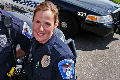 La agente Kim Potter, del Departamento de Policía de Brooklyn Center.