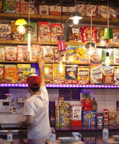 Cereal Lovers Bar, en el madrileño Mercado de Antón Martín.