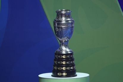 The Copa América trophy, the highest tournament on the continent.