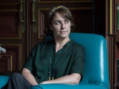 La escritora Sara Mesa en Barcelona.