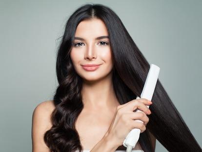 Planchas de marcas profesionales para realizar todo tipo de peinados. GETTY IMAGES.