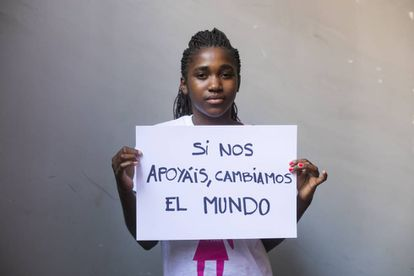 Josephine, 16 años, de Malawi.