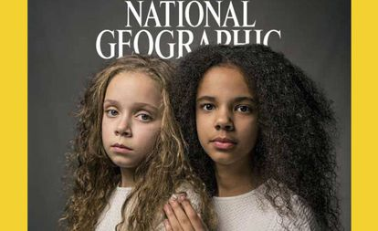 La portada de la revista National Geographic.
