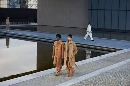 Presentación de la colección otoño-invierno 2021 de Zegna.