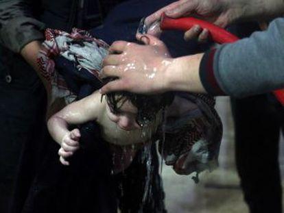 El presidente de EEUU anuncia por Twitter que iniciará la ofensiva bélica contra el régimen de Bachar El Asad