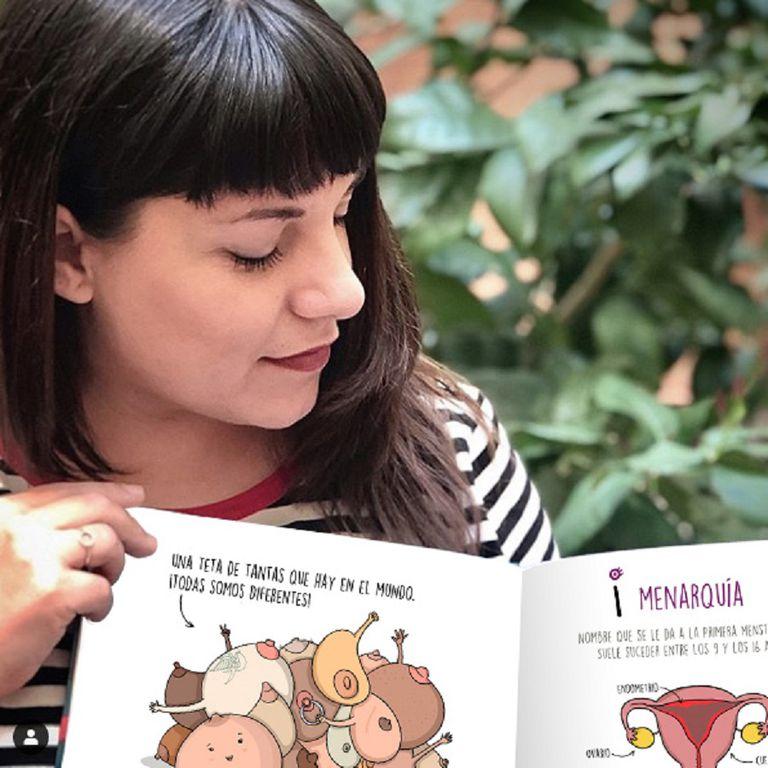 Cristina Torrón es ilustradora y creadora de Menstruita Power
