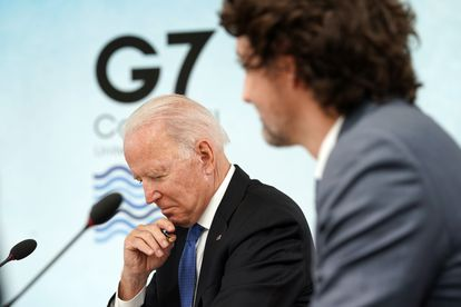 Joe Biden, en la cumbre del G-7 celebrada este fin de semana en Cornualles (Reino Unido).