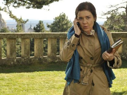 María Pujalte, en 'Los misterios de Laura'.