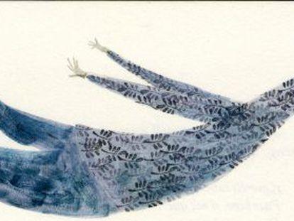 Ilustración para 'La historia de Cyrano de Bergerac' de Miguel Tanco.