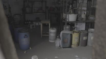 Uno de los laboratorios de Manu Gupta y sus asociados en Indore, India.