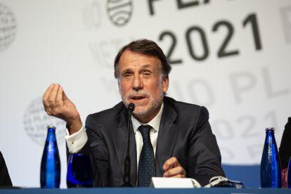 El presidente del Grupo Planeta, José Creuheras, este jueves.