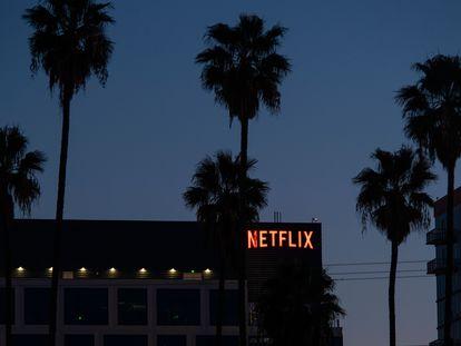 Vista del edificio de Netflix en Hollywood, California (EE UU).