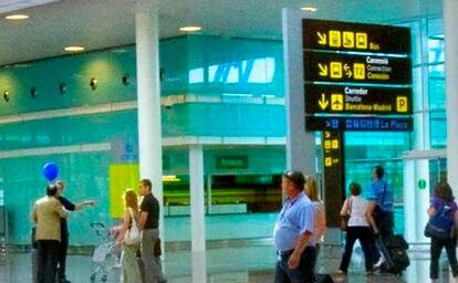 La T-1 del aeropuerto de El Prat