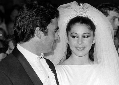 Francisco Rivera 'Paquirri' e Isabel Pantoja, el día de su boda en 1983.