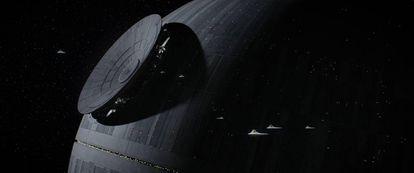 La Estrella de la Muerte, en 'Rogue One'.