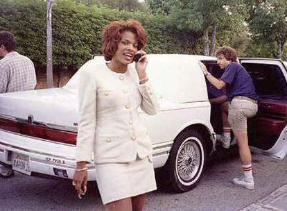 Divine Brown, en una imagen tomada en 1995.
