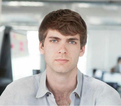 El fundador de la plataforma digital Artsy, Carter Cleveland.