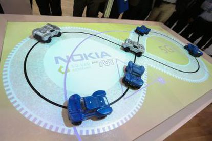 Demostración de conducción automática de Nokia por tecnología 5G.