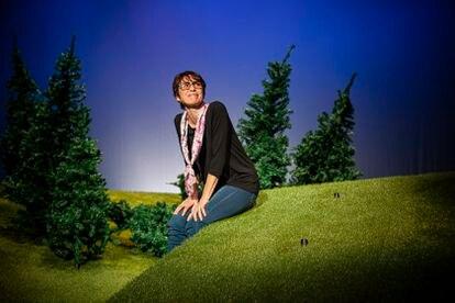 Ariadna Gil en un momento de 'Encara hi ha algú al bosc'.