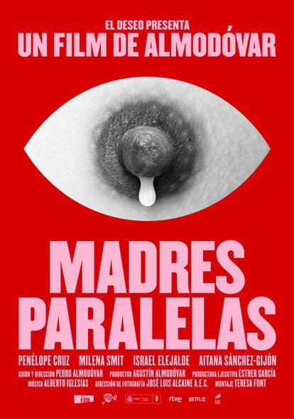 El póster de 'Madres paralelas' que El Deseo ha hecho público en redes sociales.
