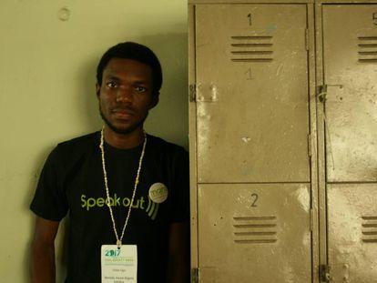 Victor Ugo ha creado una plataforma para acabar con el estigma de la enfermedad mental en Nigeria.