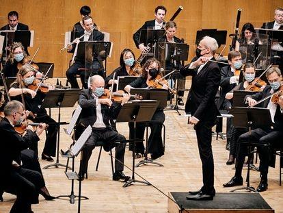 Real Filharmonía de Galicia, en una imagen cedida por la orquesta.