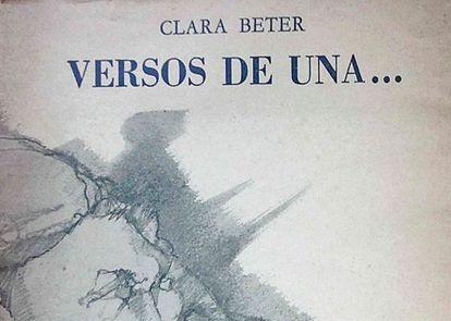Portada de una obra de César Tiempo.