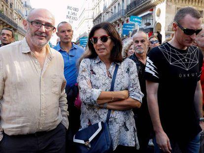 La alcaldesa de París, Anne Hidalgo, este sábado