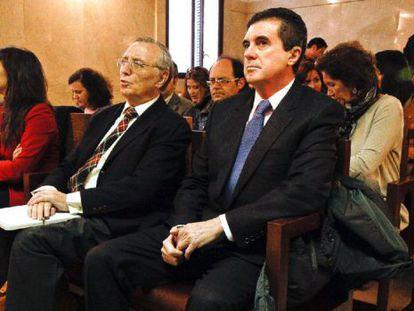 Jaume Matas, durante el juicio tras el que fue condenado a seis años.