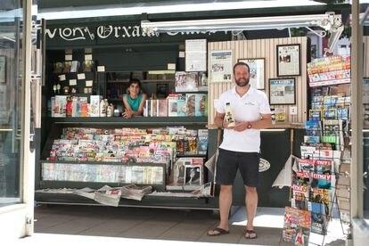 El nuevo quiosco para comprar prensa y horchata valenciana en la calle de Narváez.