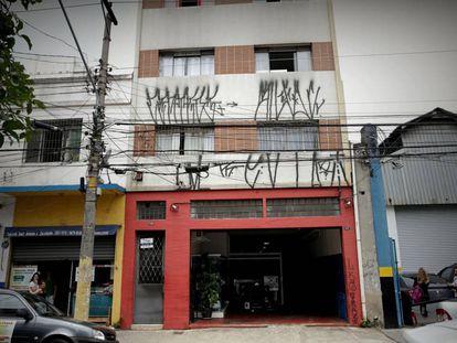 Exterior del edificio donde vivía Carlos García Juliá en Sao Paulo (Brasil).
