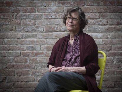 La profesora estadounidense Ann Cook en la Fundación Bofill de Barcelona.