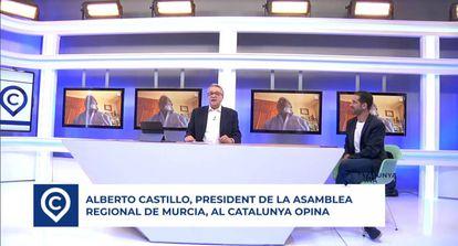 Fotograma del programa Catalunya Opina de Teve.cat
