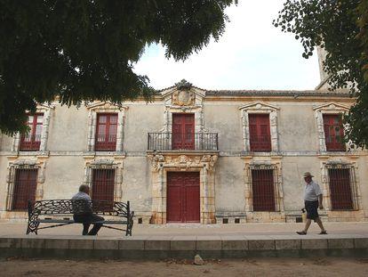 El palacio de Nuevo Baztán.