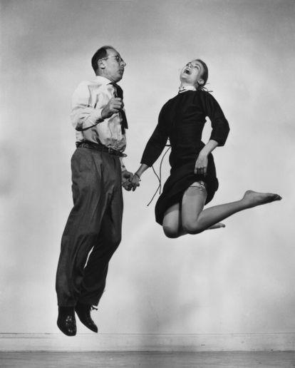 Grace Kelly y Philippe Halsman.