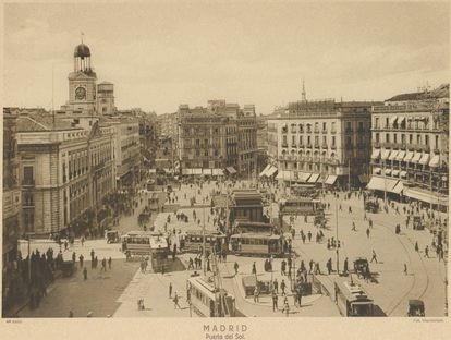 La Puerta del Sol de Madrid.