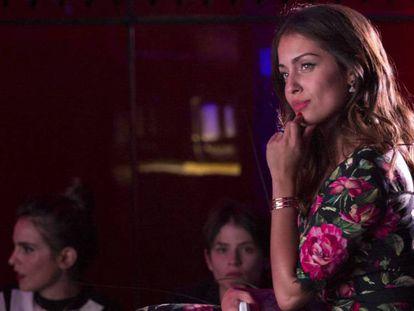 La actriz Hiba Abouk, el pasado 7 de noviembre en Madrid.