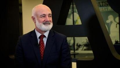 Guillermo Cánovas, director de Educalike, un observatorio para la promoción del uso saludable de la tecnología, durante la entrevista realizada a EP.