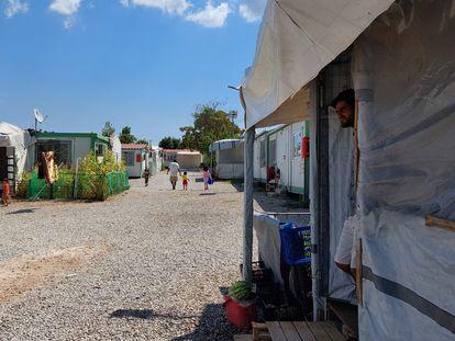 Campo de refugiados de Malakasa, en Grecia.