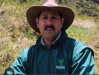 Gonzalo Cardona, ambientalista colombiano asesinado.