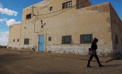 """Edificio del colonial del """"Burj Merillon"""" al que la asociación querría rehabilitar y convertir en hotel."""