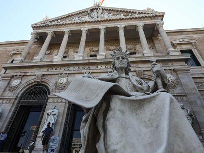 Edificio que alberga la Biblioteca Nacional de España