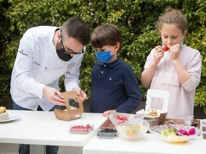 """'ChefsForChildren' cuenta con el apoyo de una treintena de reconocidos cocineros de toda España y su lema es """"Comer sano es divertido""""."""