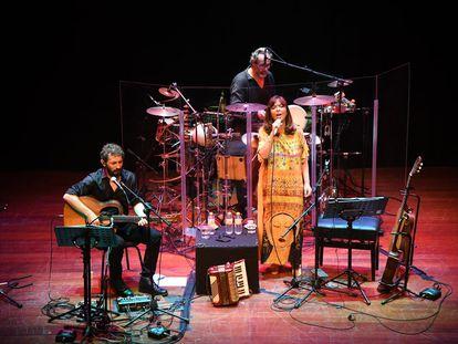 Imagen de uno de los conciertos de María del Mar Bonet y Borja Penalba.