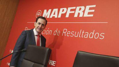 El presidente del Mapfre, Antonio Huertas.