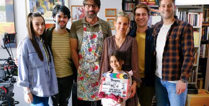 Una imagen del rodaje de 'Los protegidos: el regreso'.