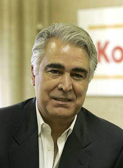 Antonio Pérez, en la sede española de Eastman Kodak, en Las Rozas (Madrid).