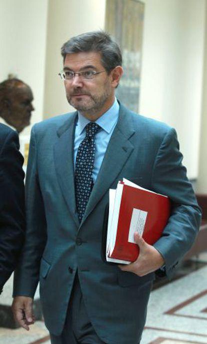 Rafael Catalá, nuevo ministro de Justicia.