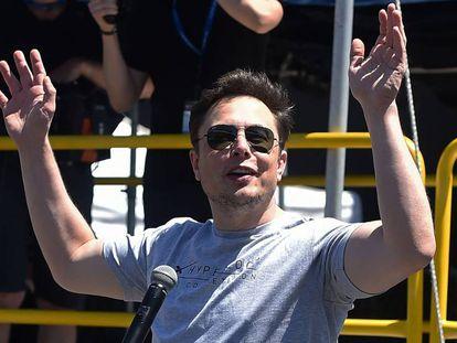 Elon Musk, el pasado mes de julio en California.