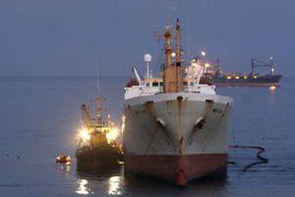 Actualmente, sólo los buques de pasajeros y los grandes buques mercantes están obligados a llevar números únicos e intransferibles de la Organización Marítima Internacional (OMI). EFE/Archivo